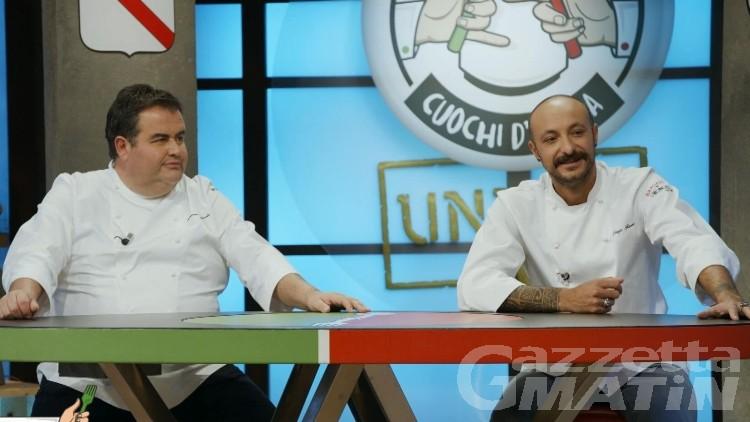Televisione: la Valle protagonista a Cuochi d'Italia under 30
