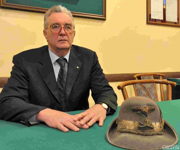 Alpini, Carlo Bionaz da record: quarto mandato da presidente