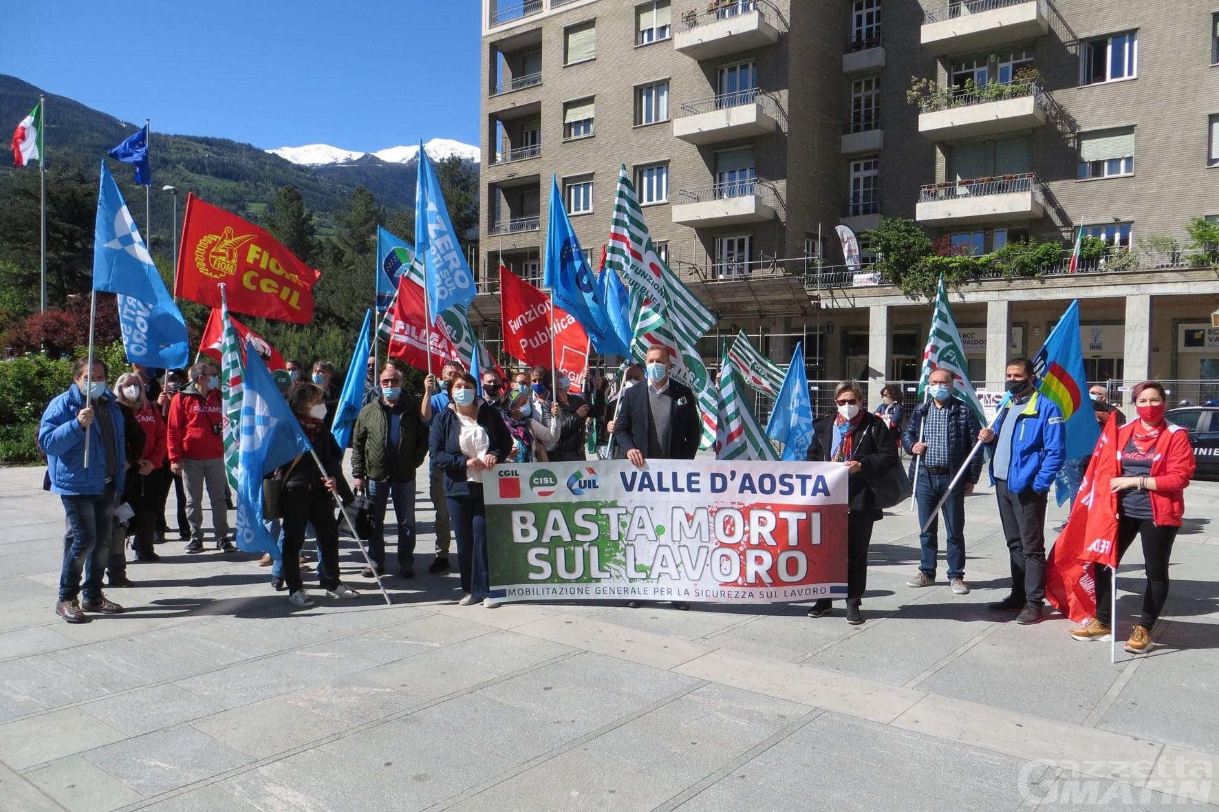 """Morti sul lavoro, i sindacati si mobilitano al motto di """"fermiamo le stragi"""""""