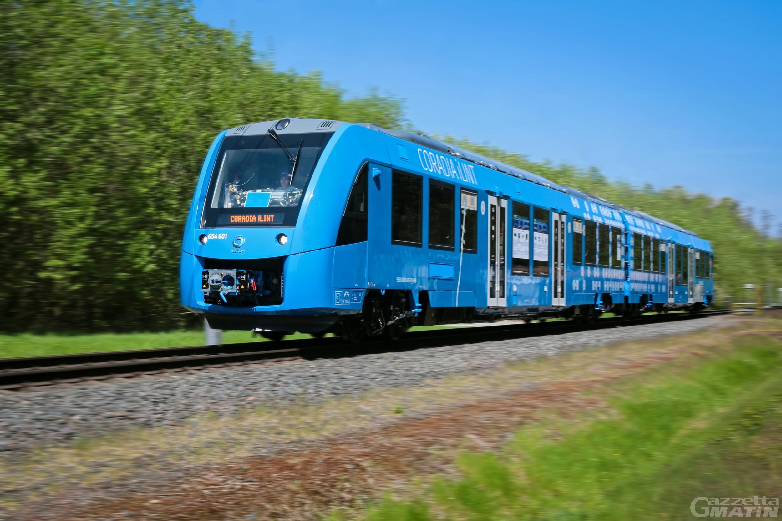 Treno: consigliere Restano deposita proposta legge su idrogeno