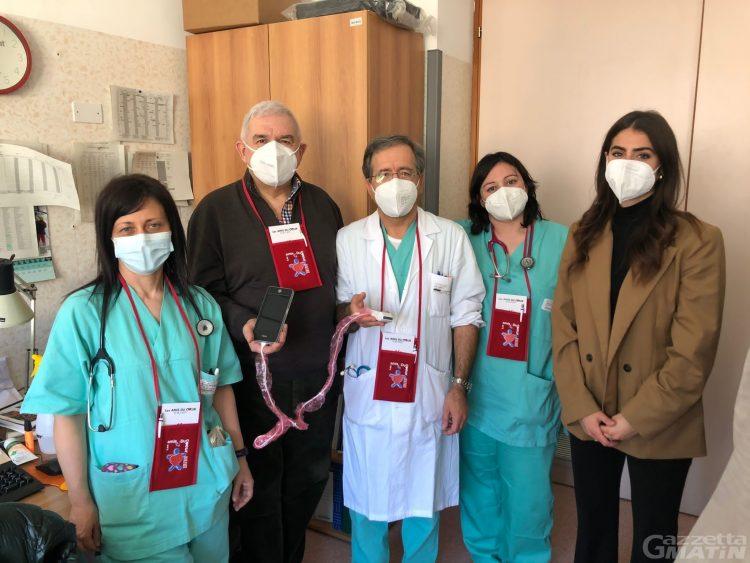 Sanità: un nuovo ecografo portatile per la pneumologia