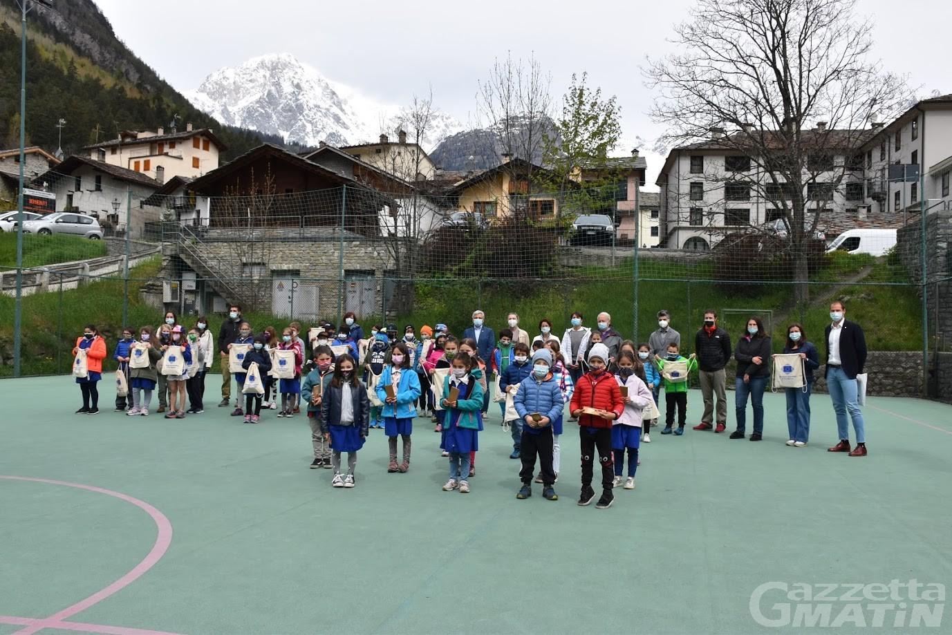 Concorso 'Ma Région, Ma Europe', premiati gli alunni dell'istituzione Valdigne-Mont Blanc