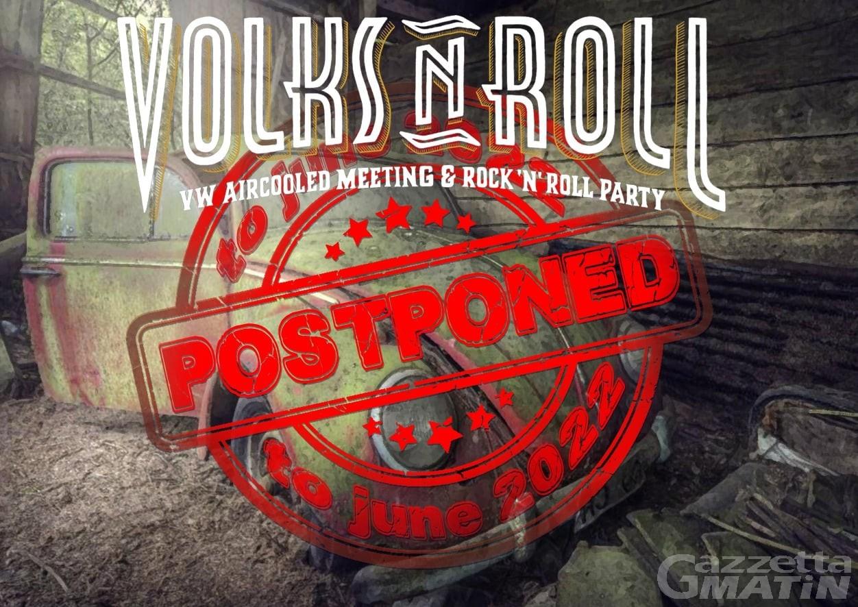 Festival: annullata l'edizione 2021 del Volks'n'Roll, kermesse di musica e motori