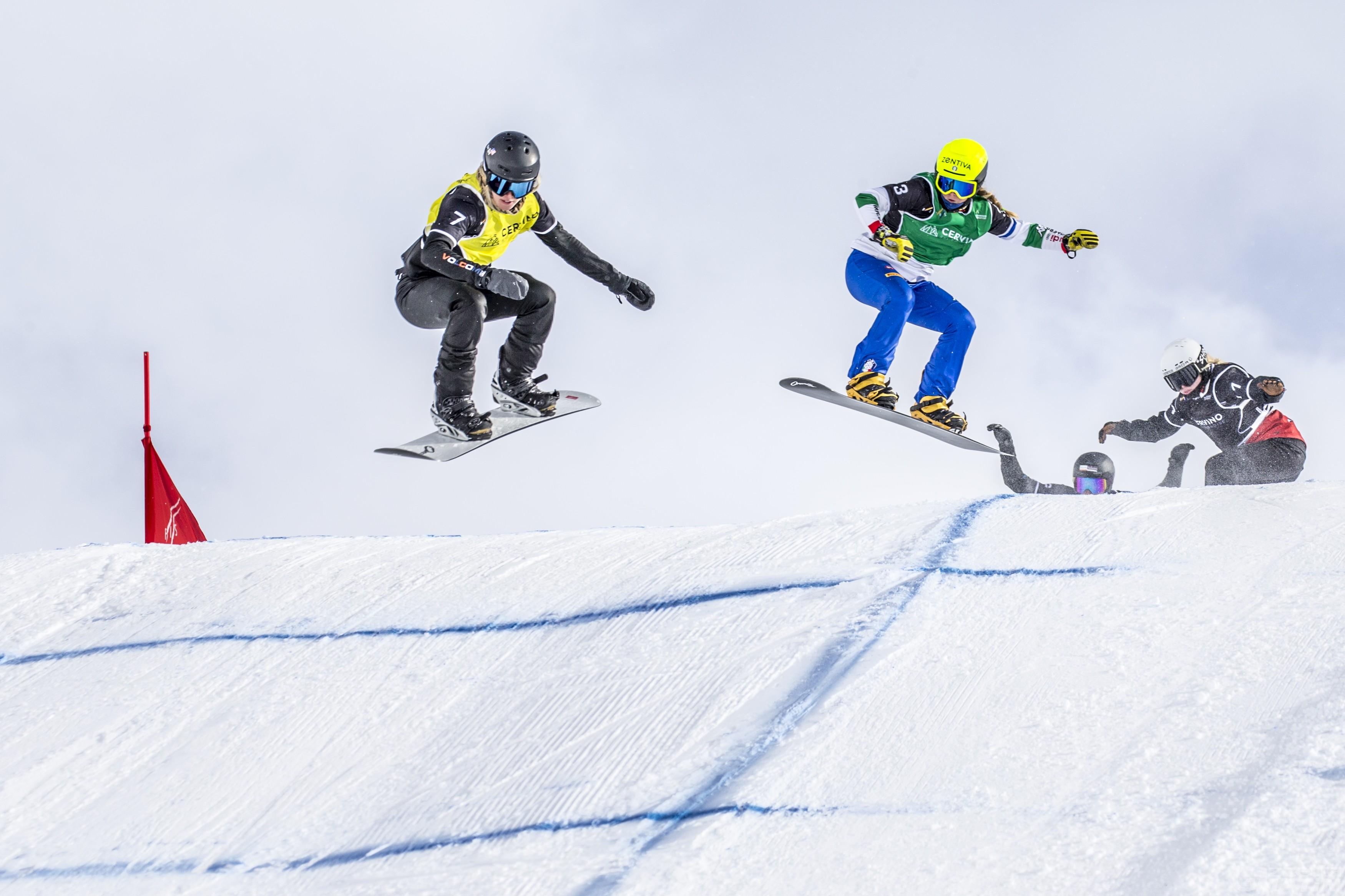 Snowboardcross: ufficiale la tappa di Coppa del Mondo a Cervinia il 17 e 18 dicembre