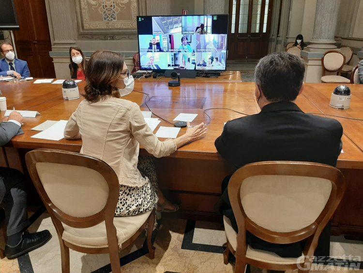 Presidente del Consiglio Bertin: «Necessario un rappresentante per Regione in Europa»
