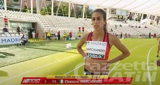 Atletica: Eleonora Marchiando seconda a Madrid, ma il minimo olimpico non arriva