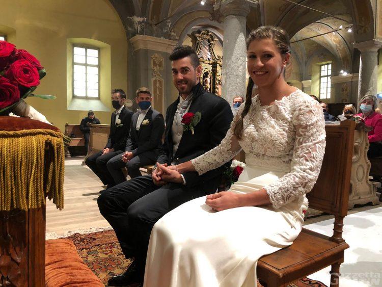 Fondo: Greta Laurent e Federico Pellegrino si sono detti sì a Gressoney