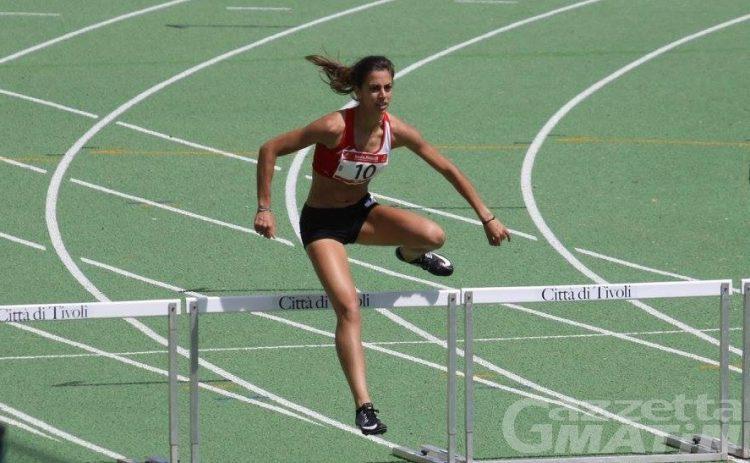 Atletica: Eleonora Marchiando vola in finale nei 400 ostacoli con il secondo tempo