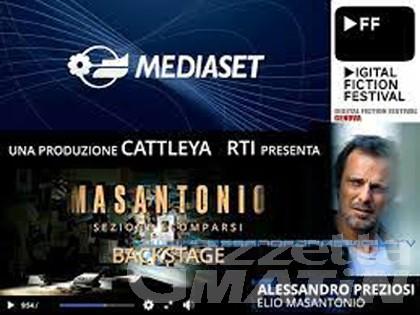 """TV, Stefano Saccotelli su Canale 5 nella fiction """"Masantonio – Sezione Scomparsi"""""""