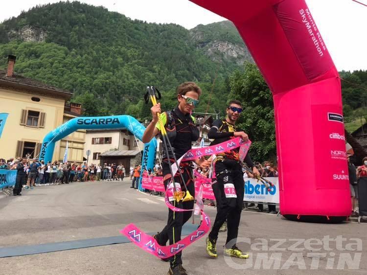 Monte Rosa Skymarathon: il trionfo di Nadir Maguet e William Boffelli
