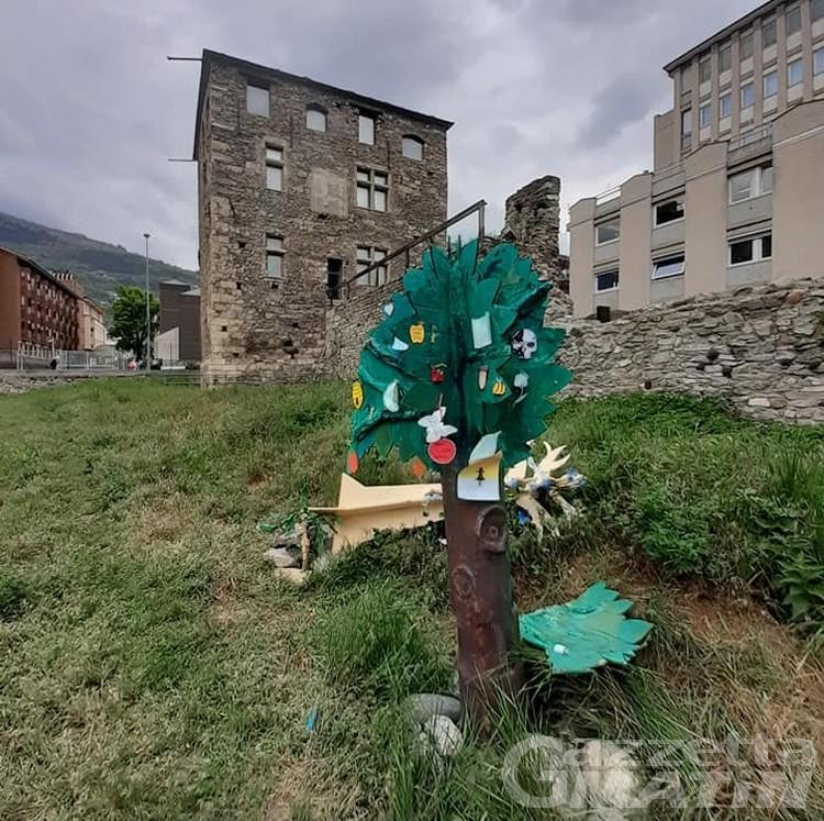 Aosta: Opera Omnia Onlus apre a tutti la Foresta dei desideri