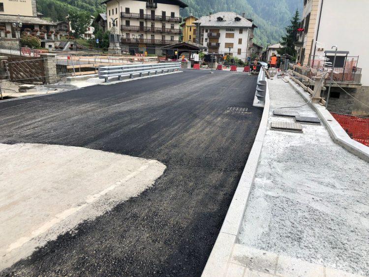 Gaby, il nuovo ponte sul torrente Niel apre il 22 giugno