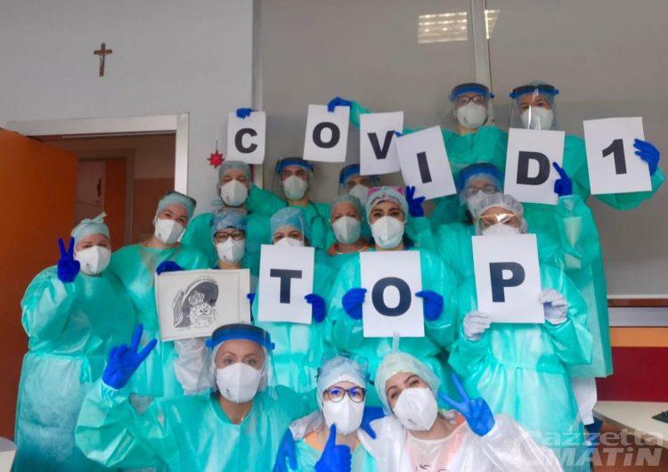 Aosta: chiuso l'ultimo reparto Covid dell'ospedale Parini