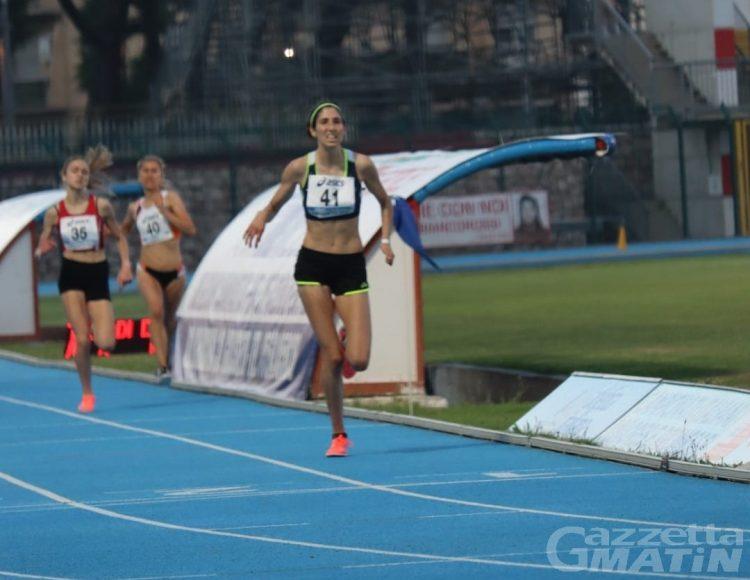Atletica: Silvia Gradizzi campionessa italiana Juniores dei 3.000 metri