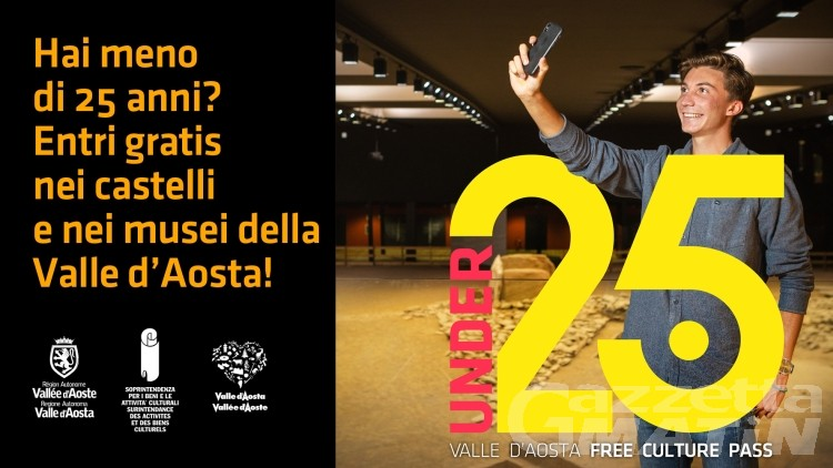 Siti culturali gratis in Valle d'Aosta per gli Under 25