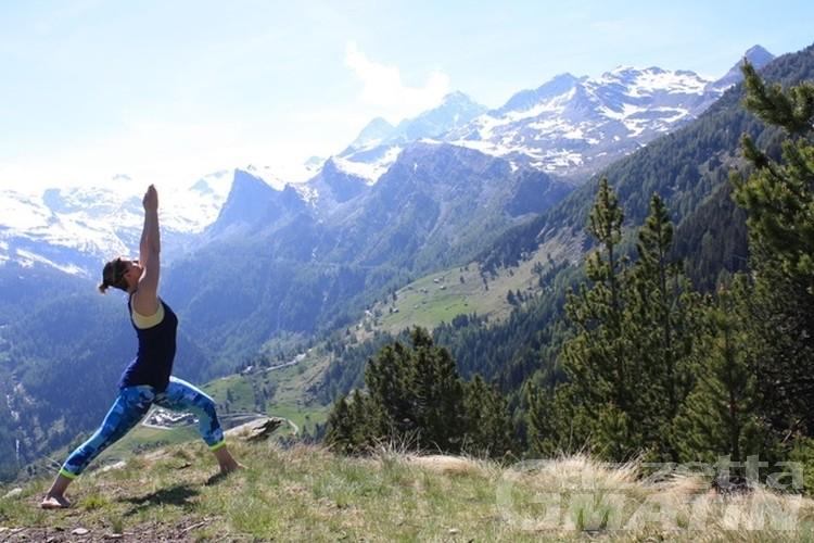 Yoga Mountains Days: gli appuntamenti del week-end a La Salle e Morgex