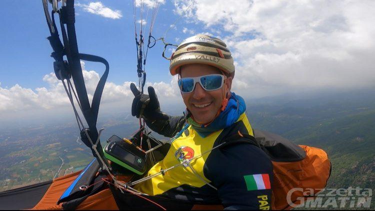 Dal Monte Rosa alla Slovenia in parapendio: è l'impresa della guida alpina Edoardo Colombo