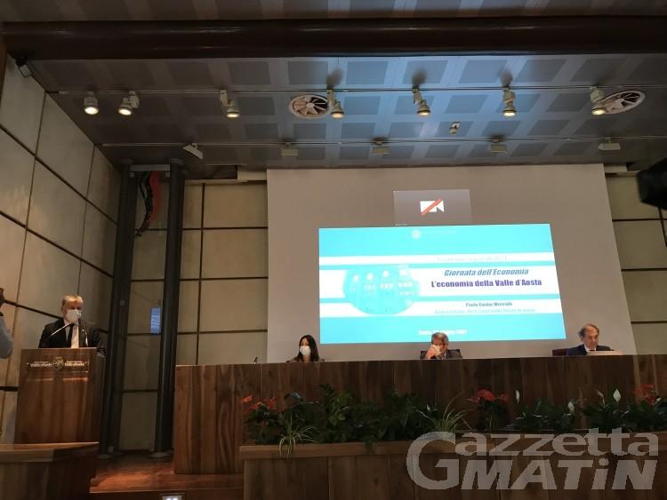 Banca d'Italia, in Valle d'Aosta Pil 2020 in calo del 9%