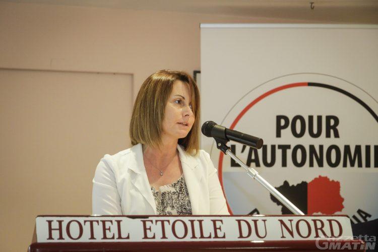 Pour l'autonomie: Stefania Anardi eletta segretaria politica, Aldo Di Marco è il presidente