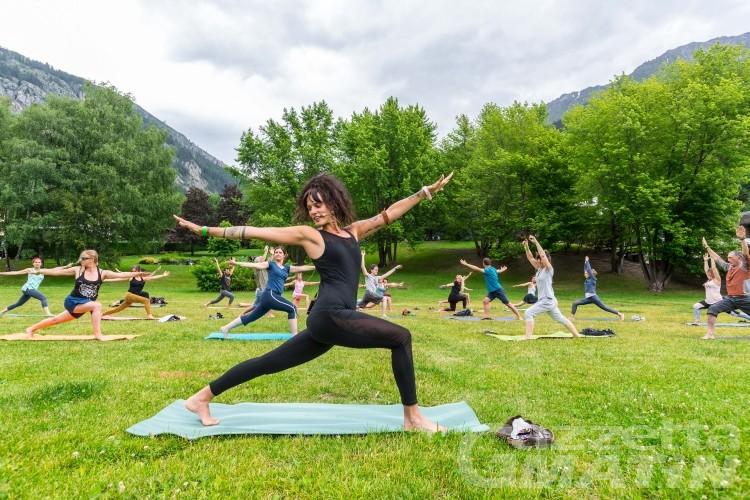 Yoga Mountain Days, quattro tappe nel segno del benessere ai piedi delle Alpi