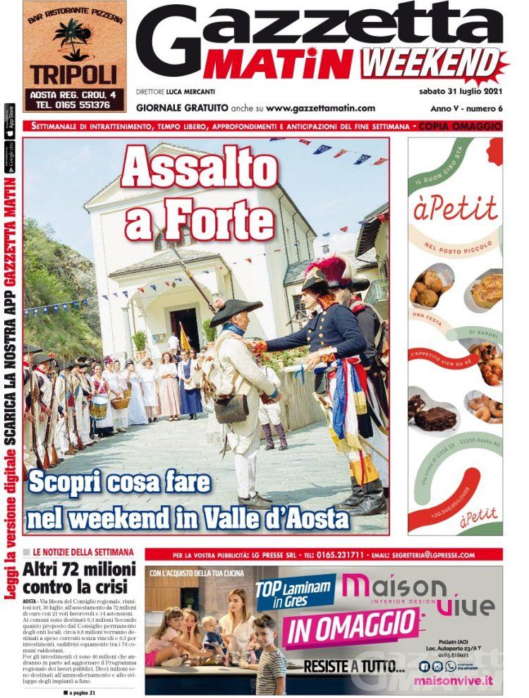 In edicola e online GRATIS la nuova edizione di Gazzetta Matin WEEKEND