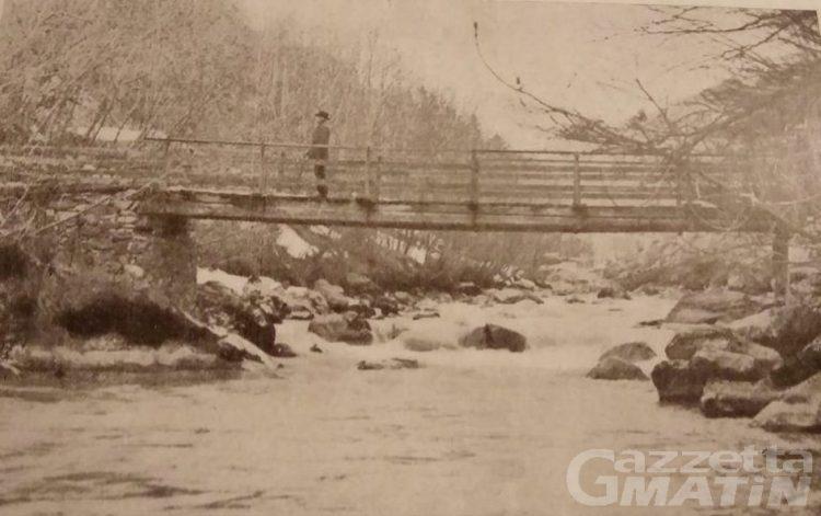 Via Francigena, i comuni di Gignod e Roisan vogliono ricostruire il Ponte di Calvino sul Buthier