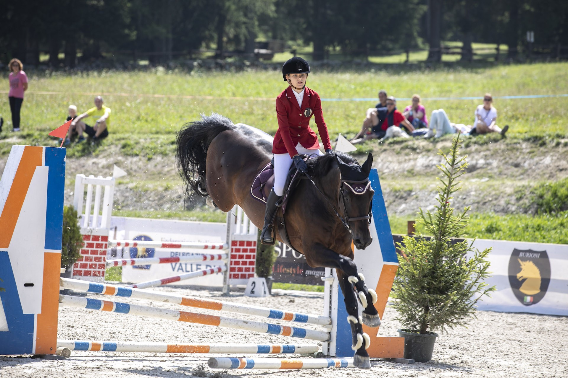 Equitazione: Cherie Maquignaz dà spettacolo nel secondo week end di Jumping Torgnon
