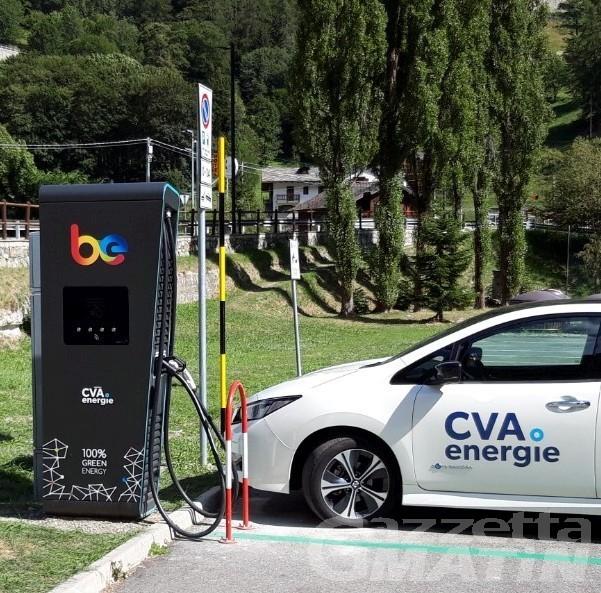 Energia rinnovabile: nuove colonnine di ricarica sul territorio valdostano