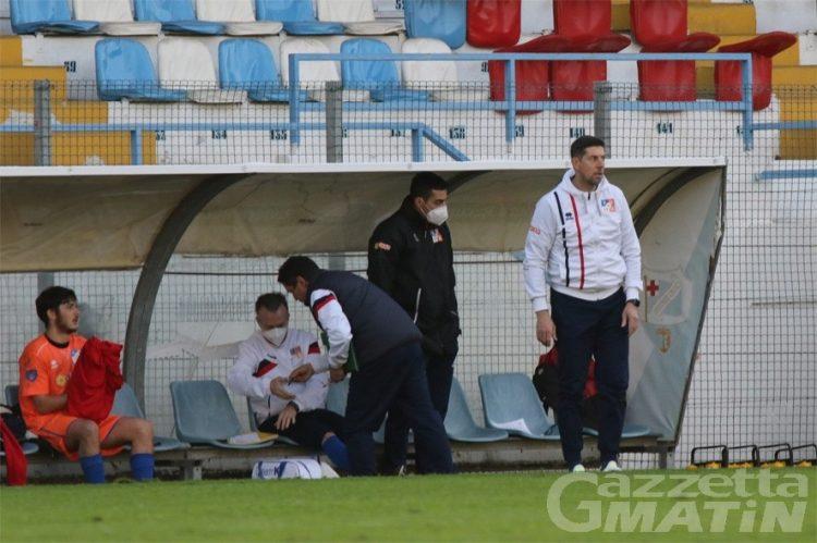 Calcio: Roberto Cretaz non è più l'allenatore del P.D.H.A.E.
