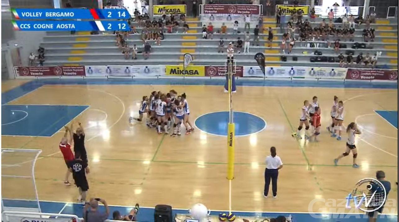 Volley: la Cogne Acciai Speciali si inchina al tie-break in finale