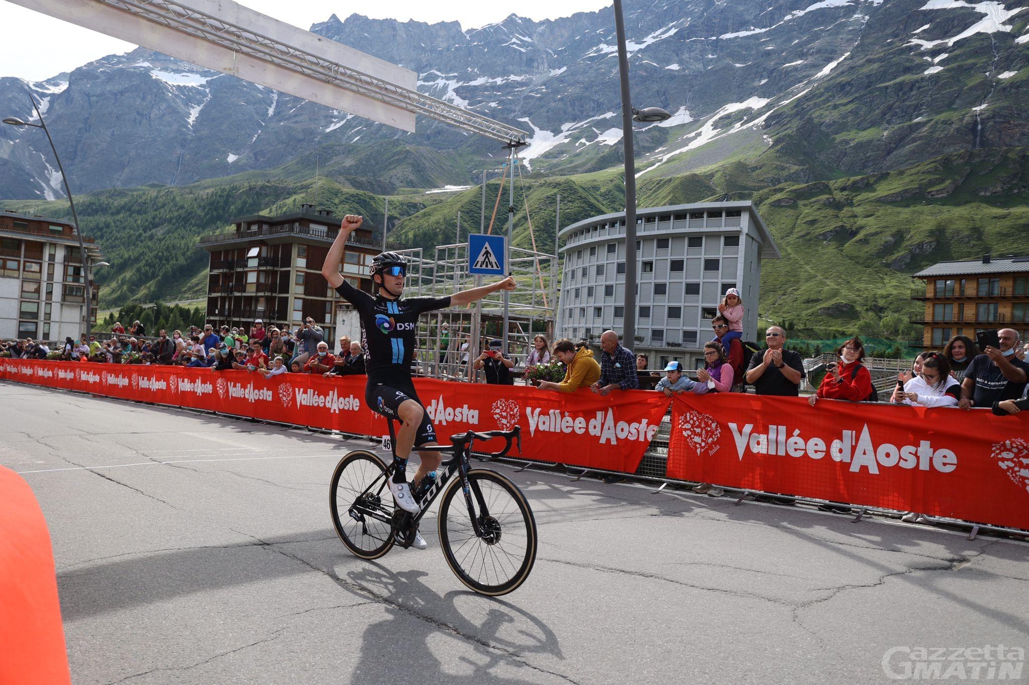 Giro della Valle d'Aosta: Gianmarco Garofoli domina la seconda tappa