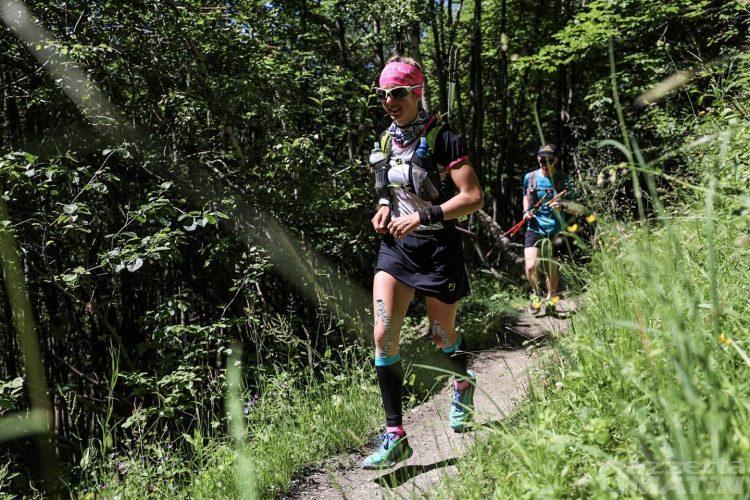 Trail: Giuditta Turini seconda nella Marathon du Mont Blanc, quarto Franco Collé