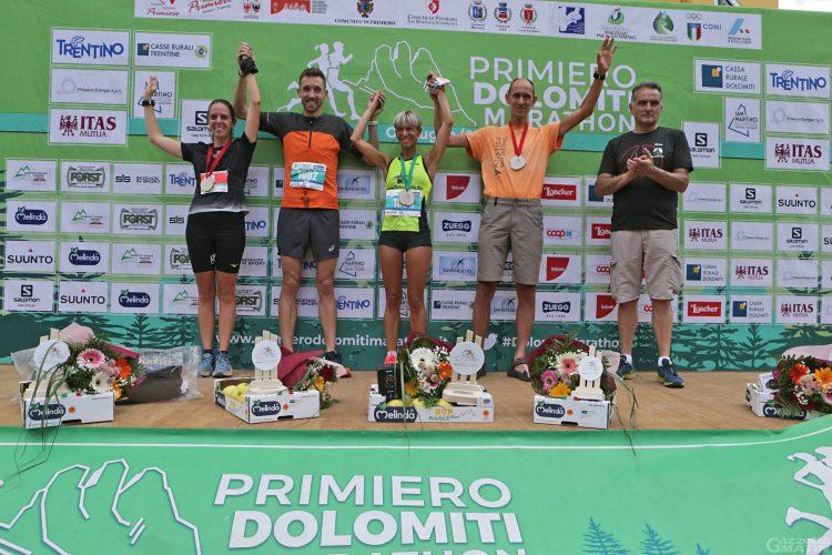 Corsa in montagna: Xavier Chevrier fa sua la Primiero Dolomiti Marathon