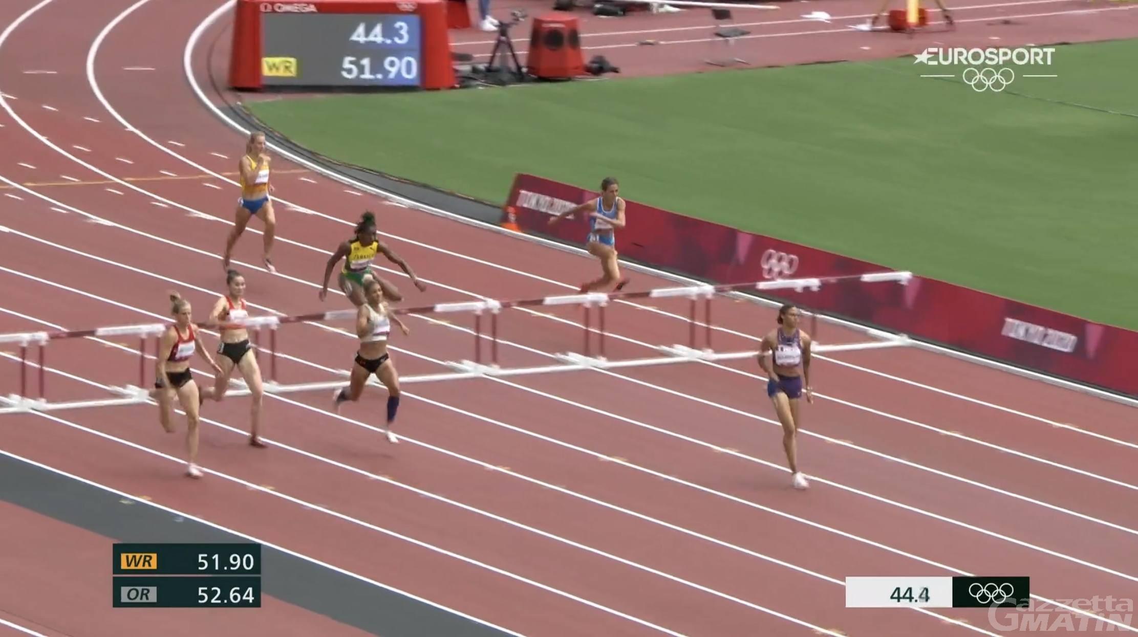 Olimpiadi: Eleonora Marchiando eliminata nelle batterie dei 400 ostacoli