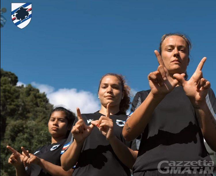 Calcio: la Sampdoria femminile scalda i motori a Saint-Vincent