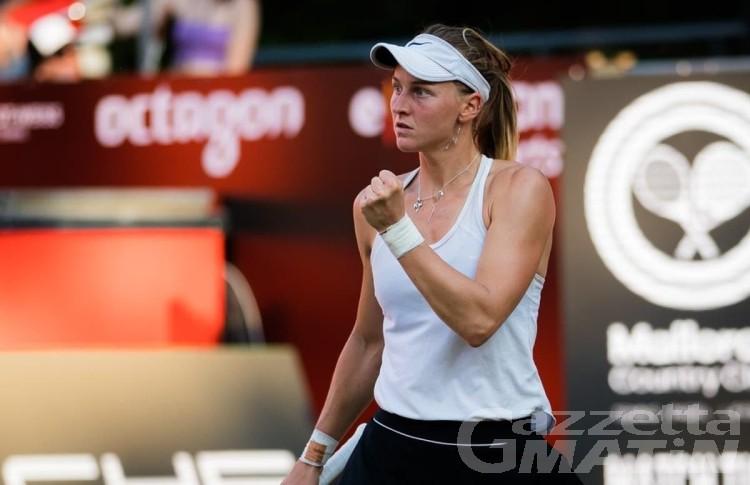 Wimbledon, Liudmila Samsonova dai campi valdostani agli ottavi di finale londinesi