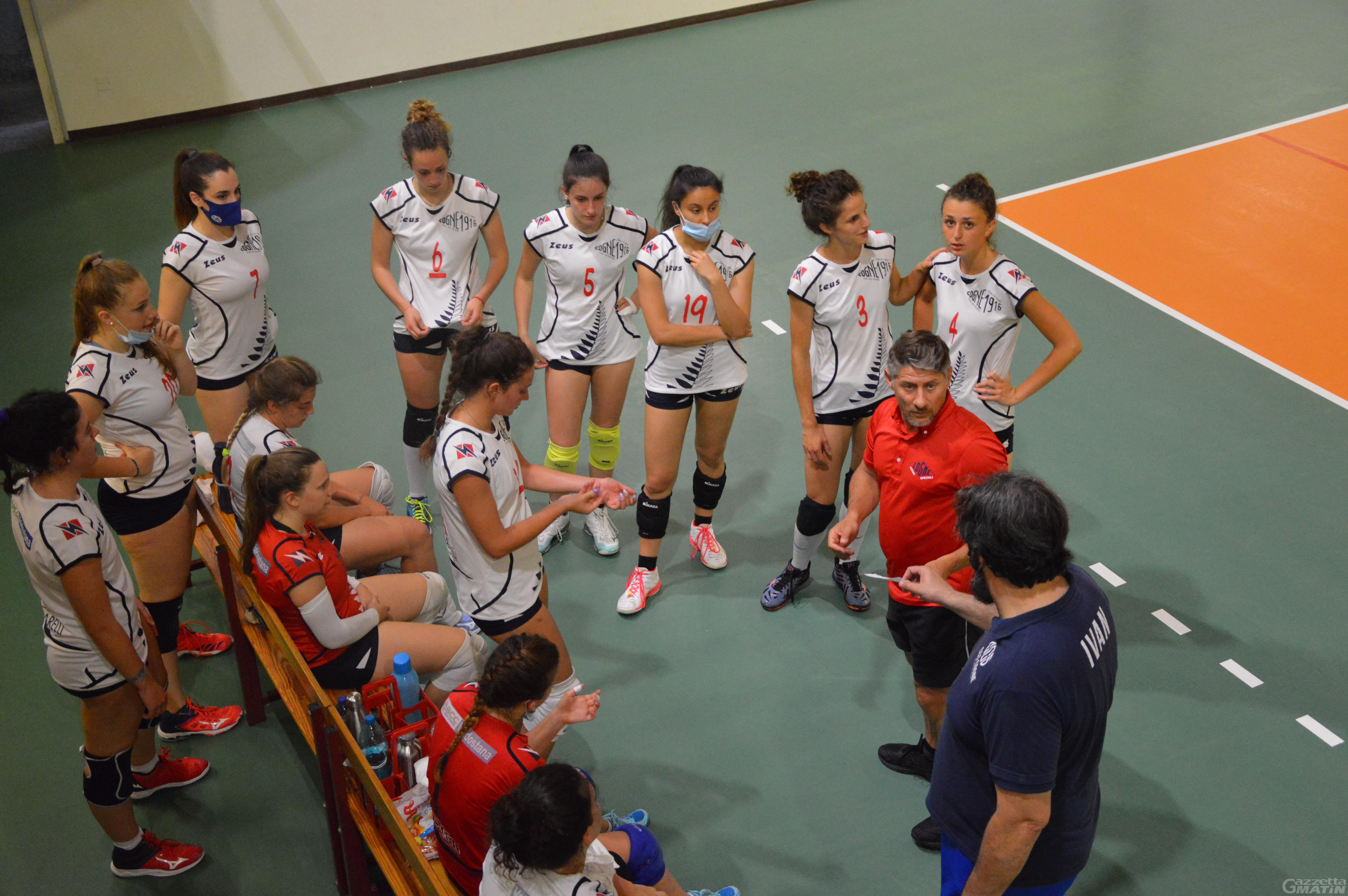 Volley: la Cogne Acciai Speciali vuole allungare il sogno