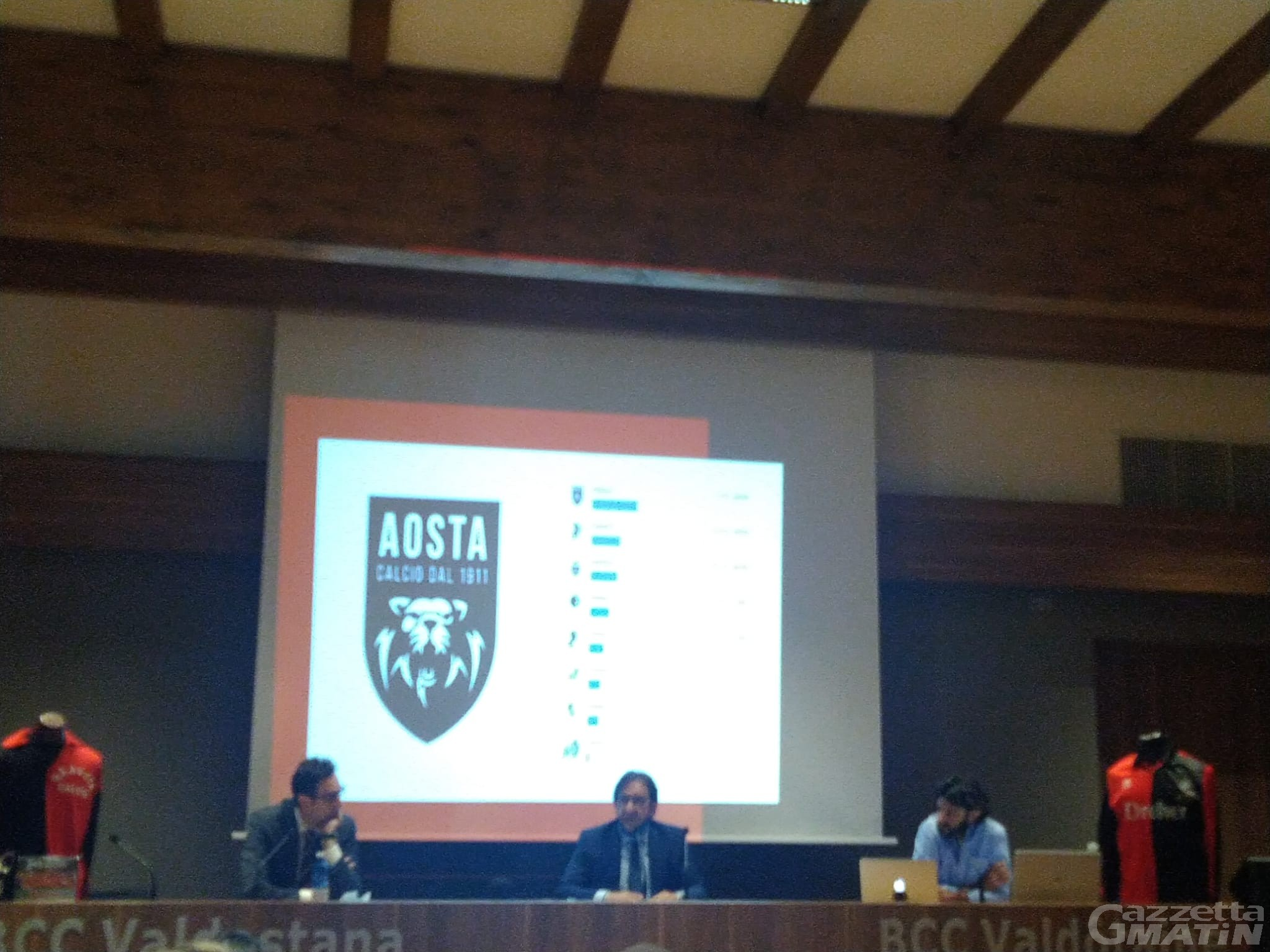 Quattro moschettieri e azionariato popolare per lanciare il nuovo VDA Aosta Calcio 1911