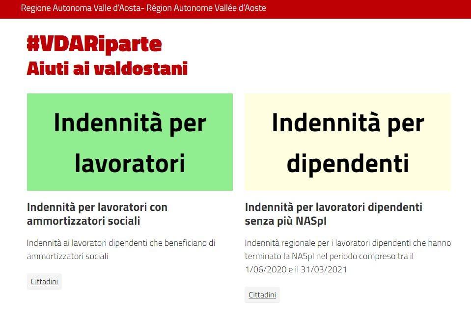 Covid, Valle d'Aosta: via alle domande per oltre 50 milioni di aiuti regionali