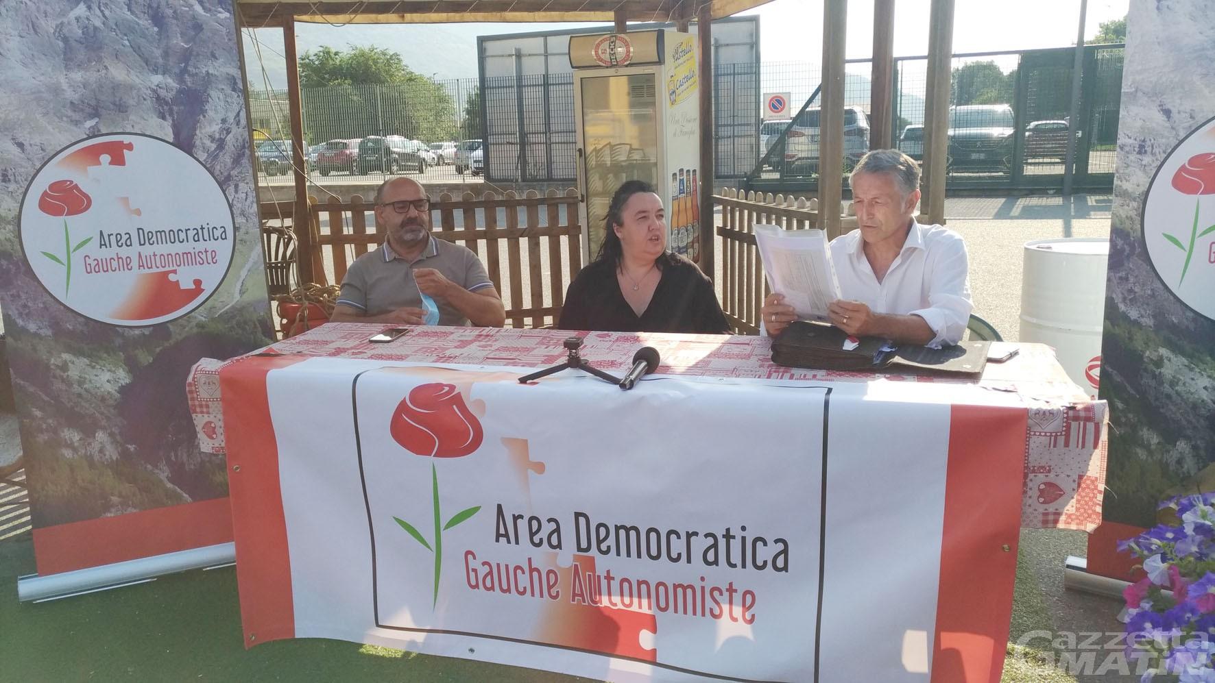 Area democratica (Pd), Donzel: «Pcp è cosa seria non un'avventura temporanea»