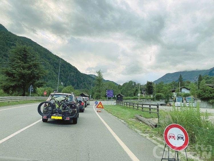 Code da incubo, Valle d'Aosta: Anas sospende i cantieri sulle strade statali