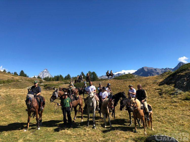 A Torgnon in Valle d'Aosta oltre 120 cavalieri a raduno nel fine settimana
