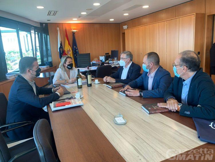 Viticoltura: si rafforza la collaborazione tra isole Canarie e Cervim