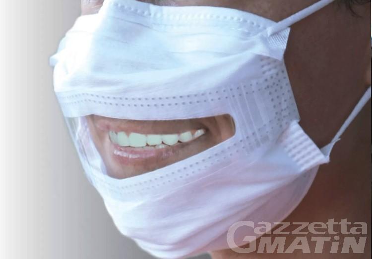 Azienda Usl: in distribuzione 320 mascherine adatte a comunicare con i sordi