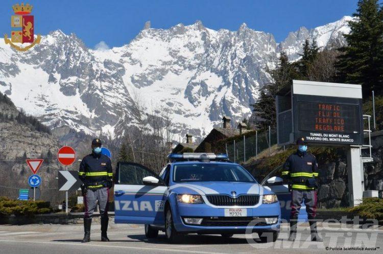 Courmayeur, percorre oltre un chilometro in contromano sull'A5: scatta la sanzione