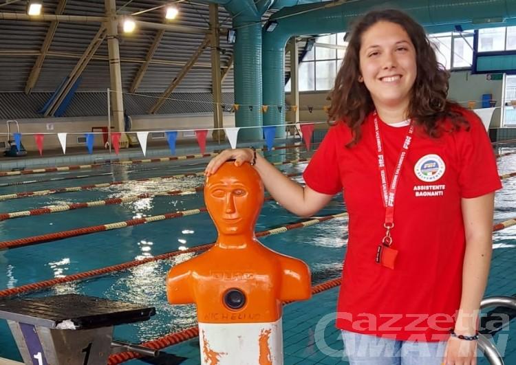 Il primato di Michela: è assistente bagnante e operatrice TMA nonostante la disabilità uditiva