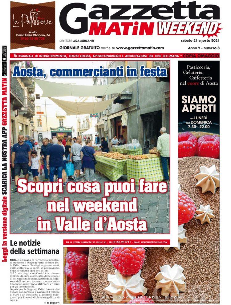 Editoria: in edicola e online GRATIS Gazzetta Matin Weekend