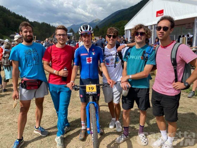 MTB: Andreas Vittone tredicesimo nei Mondiali Under 23 in Val di Sole