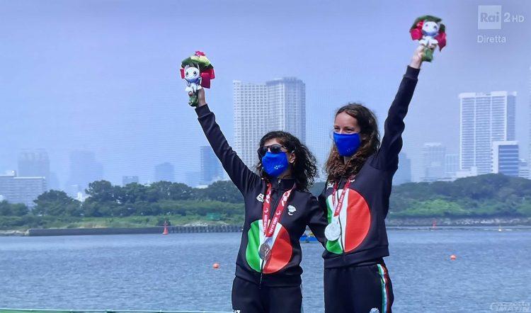 Paralimpiadi: Anna Barbaro e Charlotte Bonin meravigliose d'argento a Tokyo