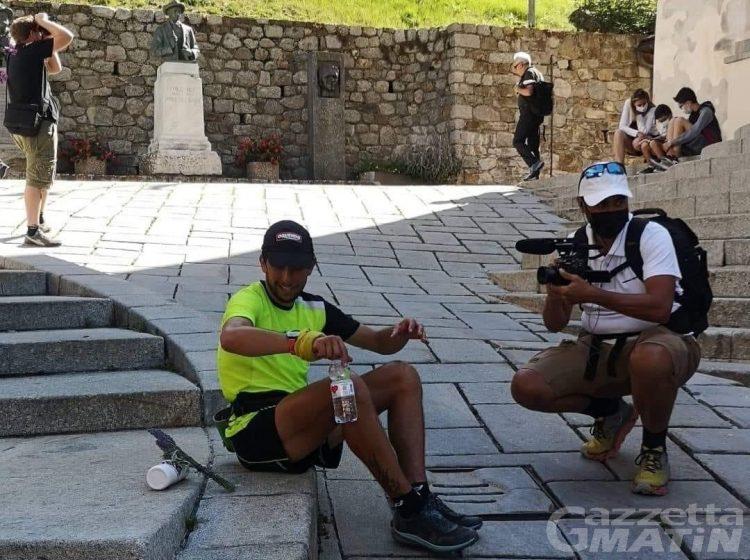 Skyrunning: Manuel Merillas batte il record di salita e discesa dal Monte Bianco